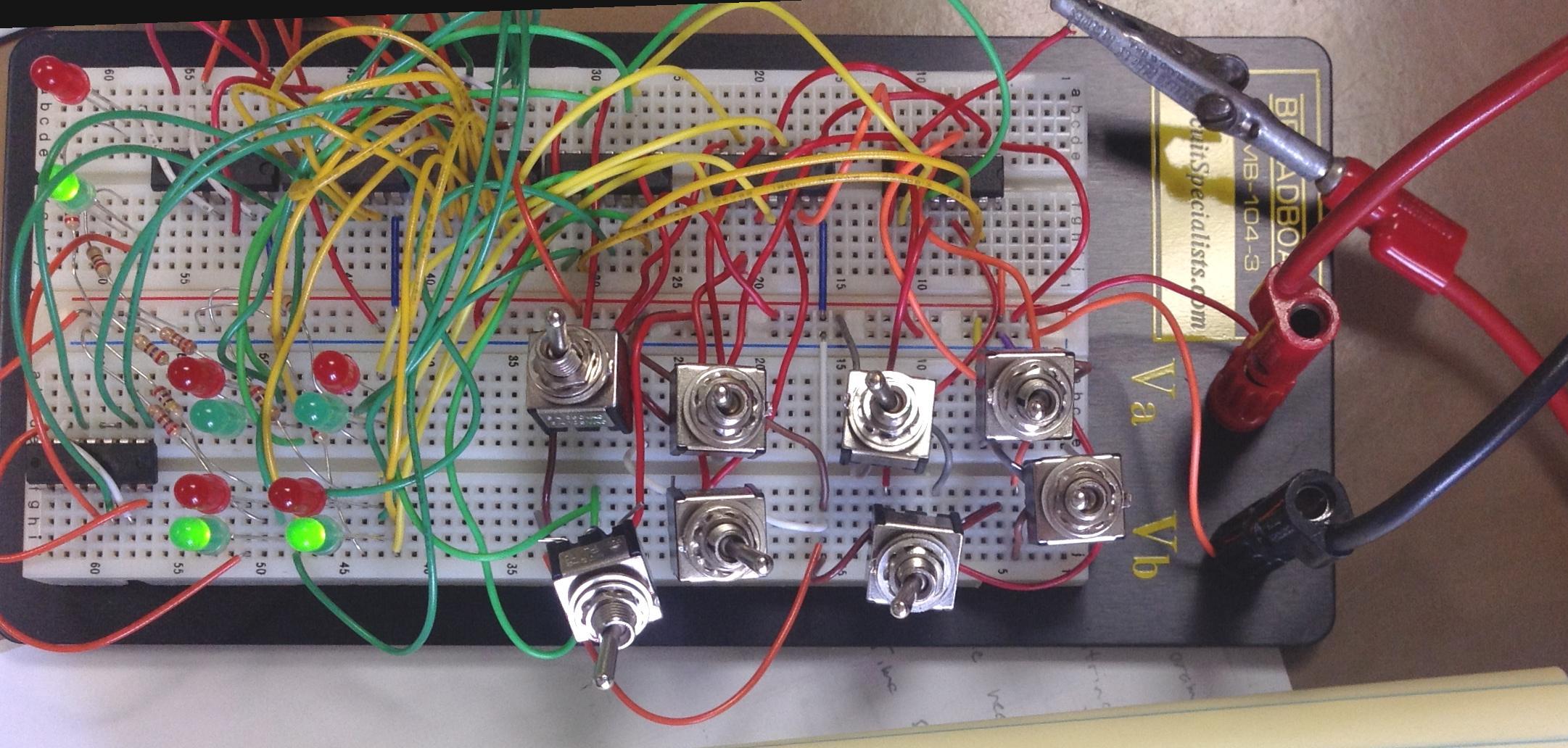 029128 Electronics Phys3850 Electronic Game Circuit Diagram Tic Tac Toe